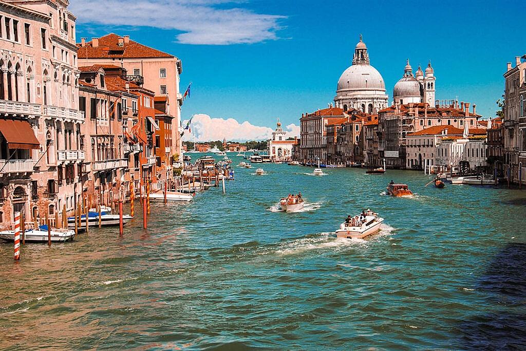 Veneza, Itália. Berço de muitos sobrenomes italianos usados hoje no Brasil.
