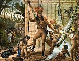 A história e genealogia dos povos indígenas no Brasil Colônia